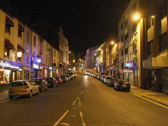 Street lighting has been highlighted as one of the main safety concerns in Northampton. (File picture).