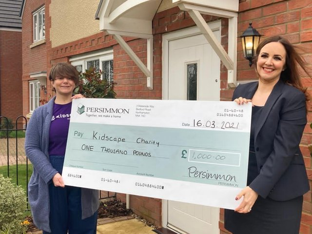 Kidscape received a £1,000 donation that will help to support their parent advice line.