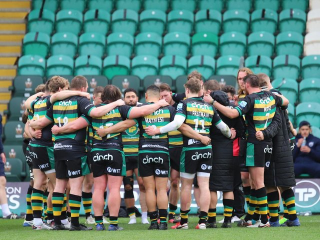 Saints were left to reflect on a game that got away (pictures: Peter Short)