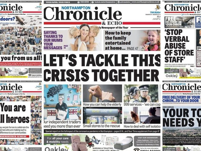 Some of the front pages from last year