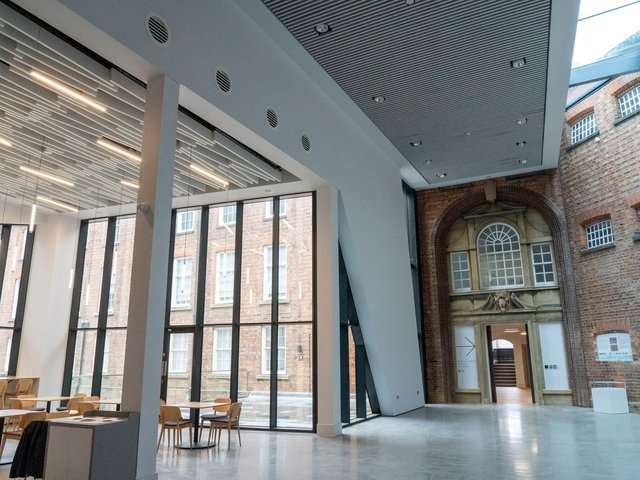 The newly refurbished Northampton Museum and Art Gallery.