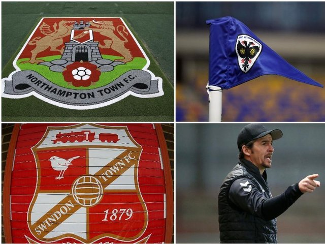 Six teams - seven if you include Burton - are battling it out for League One survival.