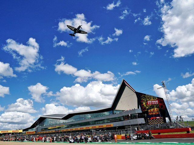 Silverstone Racing Circuit. Image: West Northamptonshire Council