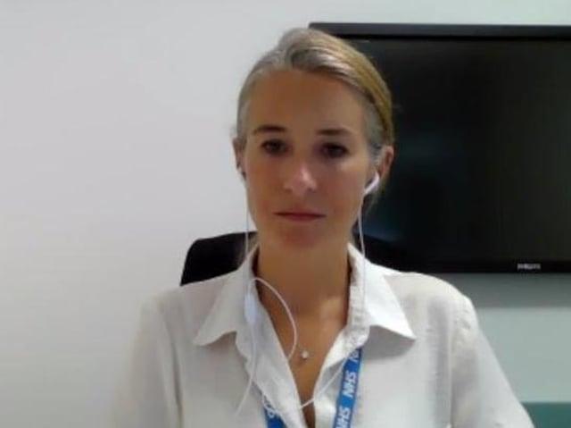 Lucy Wightman, director of health in Northamptonshire