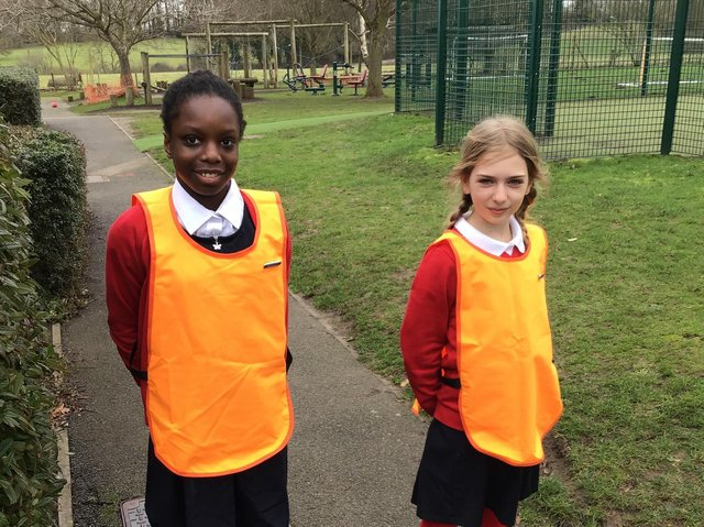 The school has implemented anti-bullying playground ambassadors.