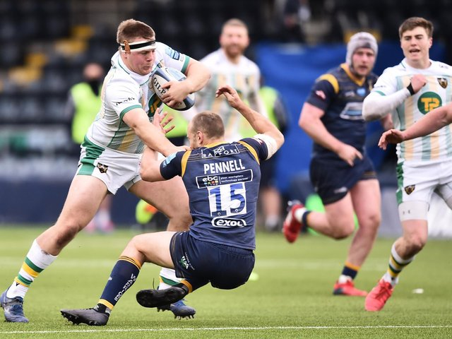 Paul Hill produced an eye-catching cameo at Sixways