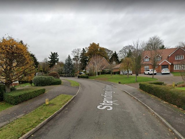 The aggravated burglary took place in Standing Stones, Northampton.