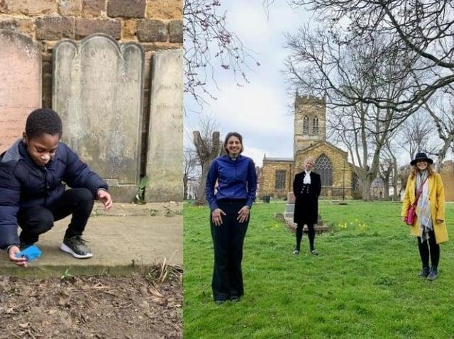 St Giles Churchyard, Northampton