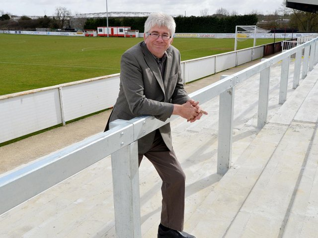 Brackley Town chairman Francis Oliver
