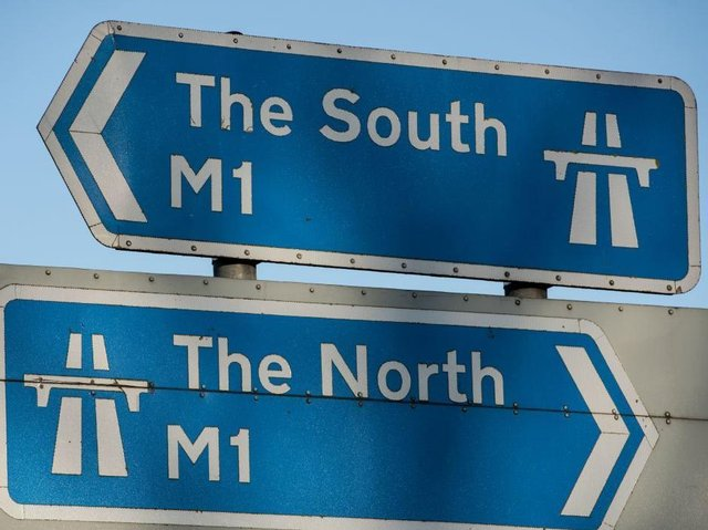 The M1 re-opened at around 7am following a serious crash at around midnight. Photo: Getty Images