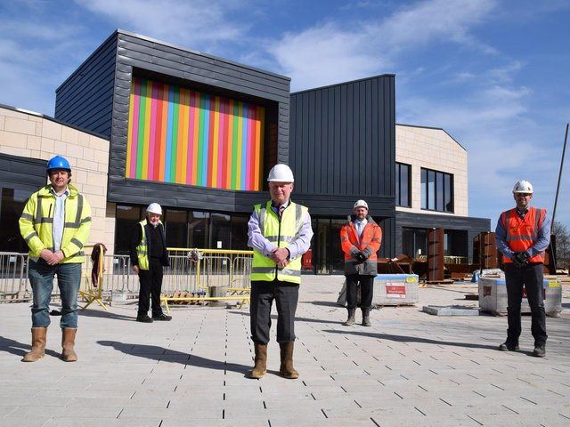 The handover of the building took place this week.
