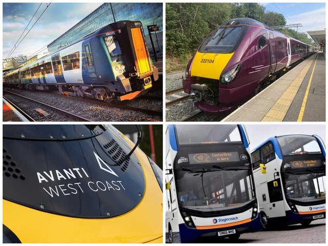 Northamptonshire's trains and buses will be operating special timetables over the Easter break