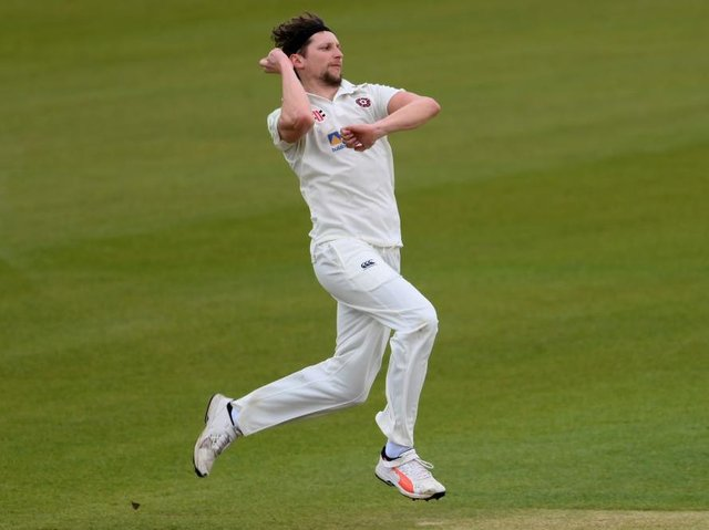 Jack White missed the inter-squad match at the County Ground on Monday