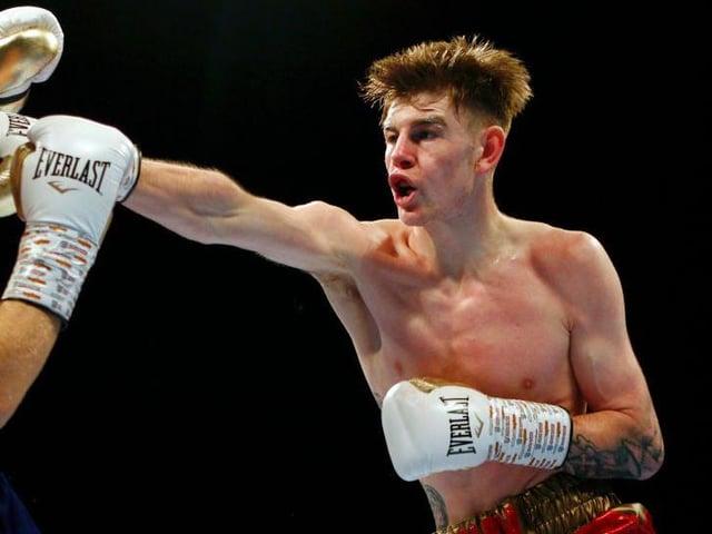 Northampton boxer Eithan James