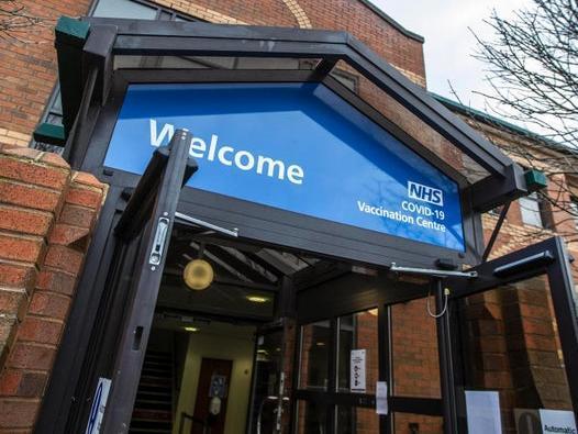 Northamptonshire's Covid-19 vaccination centre at Moulton Park