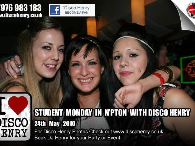Student Mondays in NB's on May 24, 2010. Photo: Disco Henry