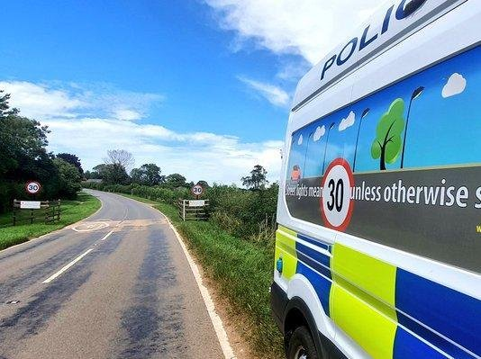 Welford is one of nearly 200 locations where Northamptonshire Police enforcement cameras watch out for speeding vehicles