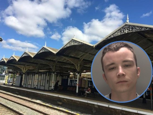 The victim was waiting at Kettering Railway Station