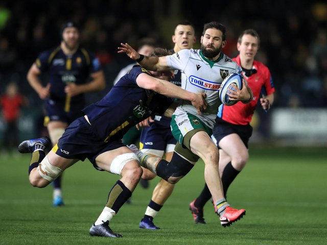 Image result for northampton saints rugby