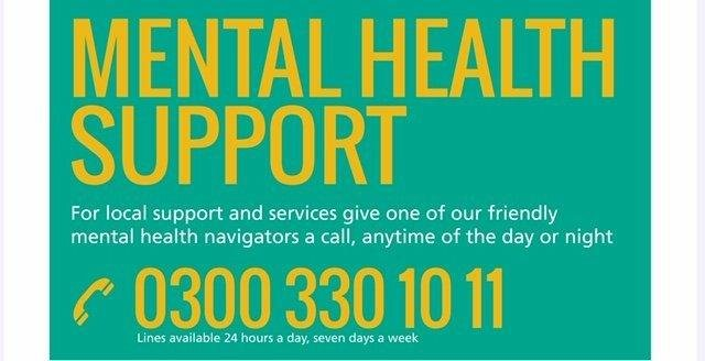 The new mental health hotline has been officially launched NNL-200428-202354005