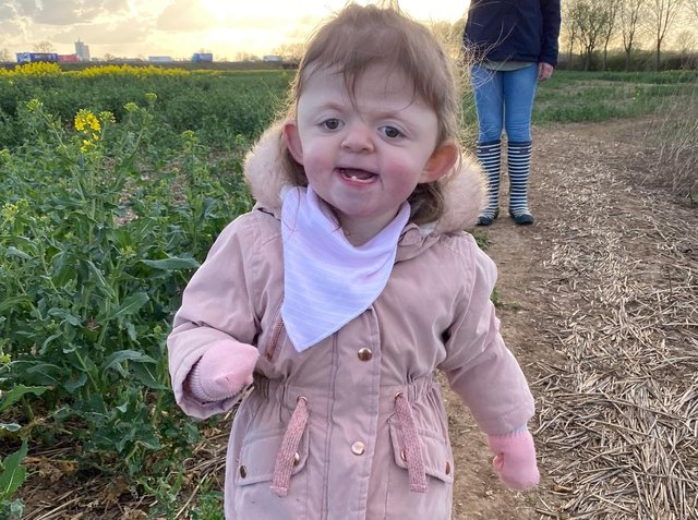 Sophie has proved doctors wrong with her charity walk