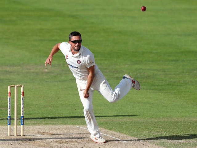 Northants spinner Simon Kerrigan could be in line to play against his former Lancashire team-mates at Old Trafford this week