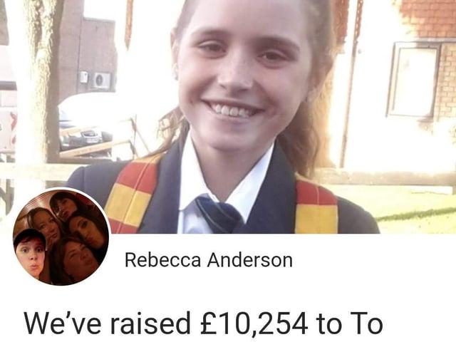 Ava-Grace Stevens' GoFundMe raised £10,254