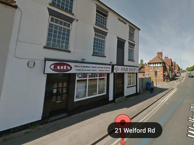 The business could move into Cuts hair salon in Welford Road, Northampton. Photo: Google Maps