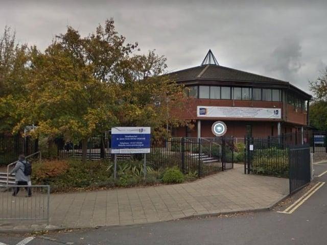 Sponne School on Brackley Road, Towcester. Photo: Google
