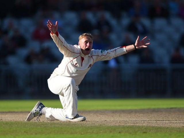 Leg-spinner Matt Parkinson claimed three wickets for Lancashire