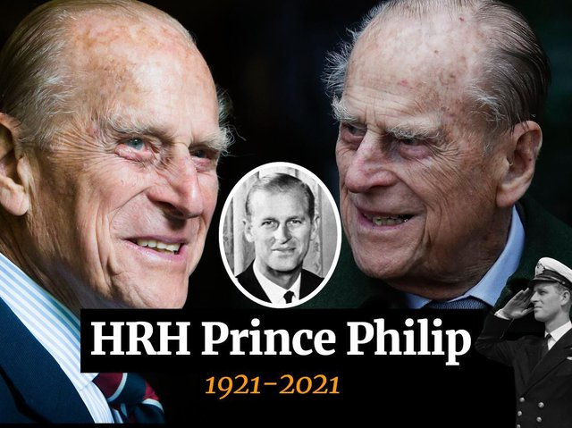 HRH Prince Philip, the Duke of Edinburgh died last week just two months short of his 100th birthday