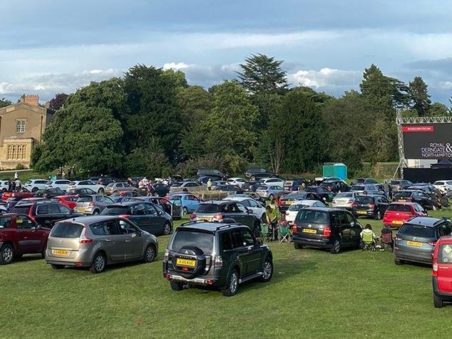 The Drive-in cinema is making a comeback to Delapre Abbey.