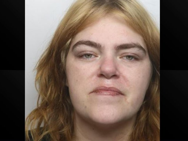 Maria Rowland was jailed for 18 months at Northampton Crown Court