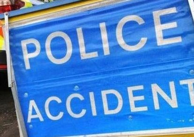 Police are dealing with a smash on the A6 between Finedon and Burton Latimer