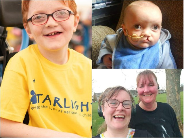 Northampton mum Libby Harvey is running the London Marathon this year in honour of her young son Alexanda.
