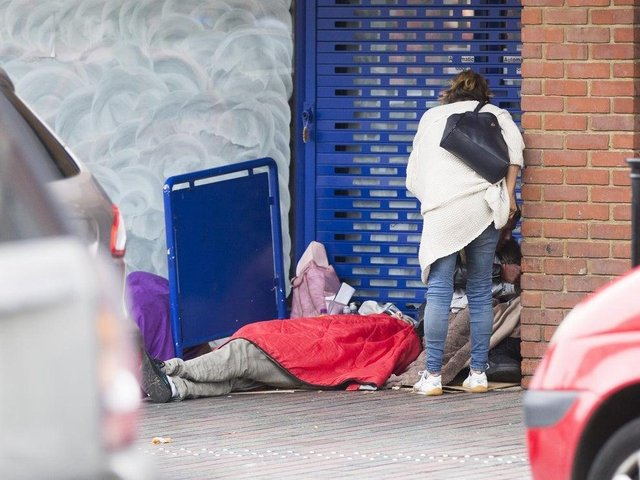 The new provision hopes to help rough sleepers with addiction problems. (File picture).