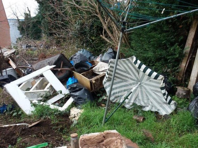 Clean-ups cost the council nearly £10,000. Photos: West Northamptonshire Council