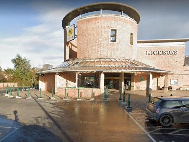 A woman in distress called the police from the Morrisons car park in Kettering