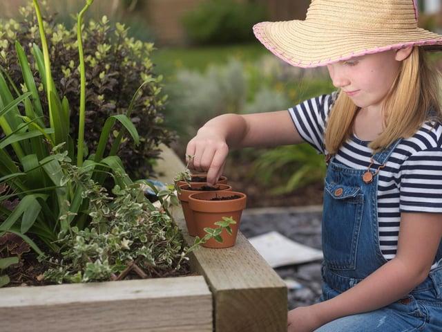 Is your child a keen gardener?