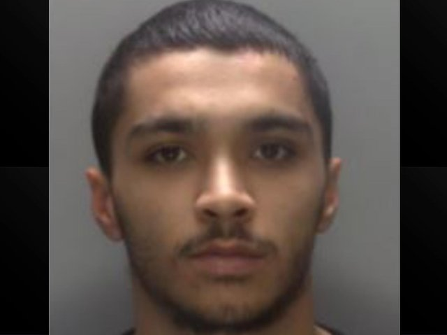 Police are on the lookout for 24-year-old Kyle Jordan Turay