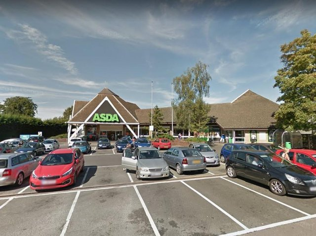 A number of flares and smoke bombs were set off in the ASDA supermarket on Harborough Road, Kingsthorpe last night.