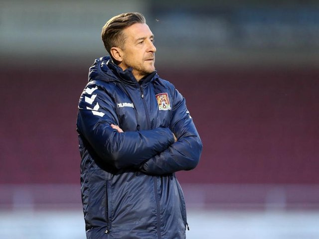 Jon Brady has now overseen 17 games as manager.