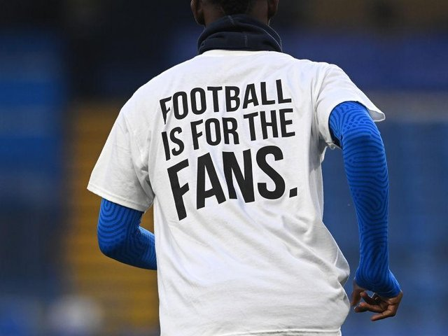 Brighton players wore these shirts before their game with Chelsea on Tuesday evening. Picture: Getty.