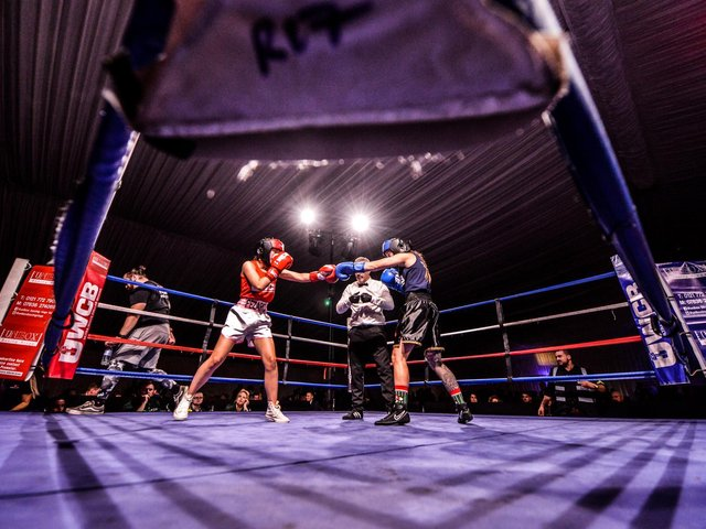 Picture: Ultra White Collar Boxing