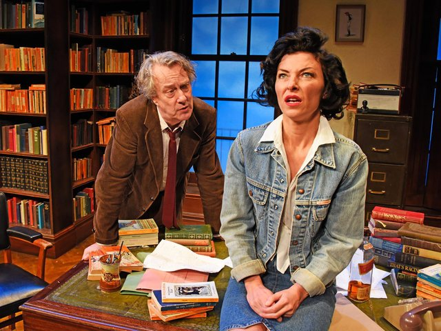 Stephen Tomkinson and Jessica Johnson star in Educating Rita, coming to the Royal and Derngate in July