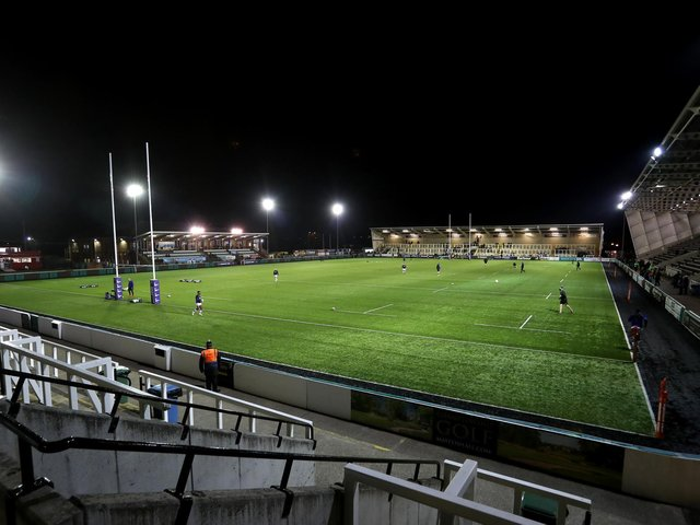 Kingston Park is set to host a limited number of Newcastle fans next month