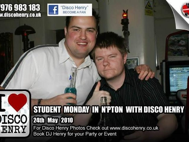 Student Mondays on May 24 in Northampton. Photo: Disco Henry