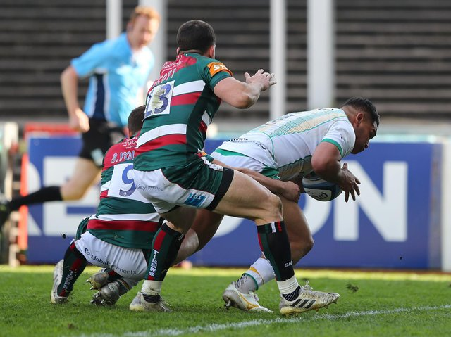 Sam Matavesi scored a crucial try for Saints