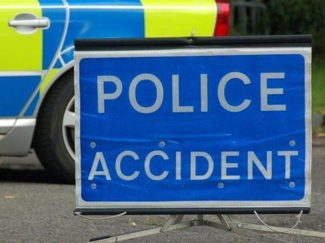 Emergency services are dealing with a smash blocking the Bedford Road just outside Northampton