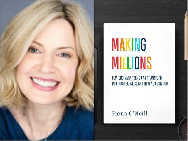 Fiona O'Neill  has penned an advice book to help teenager launch successful careers.